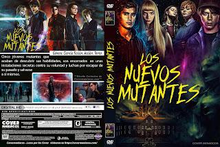 CARATULALOS NUEVOS MUTANTES - THE NEW MUTANTS - 2020