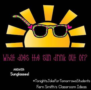 Tonight's Joke For Tomorrow's Students from Fern Smith of Fern Smith's Classroom Ideas