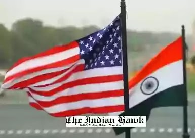 india-us flags