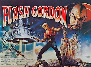 Flash Gordon, rodaje y curiosidades