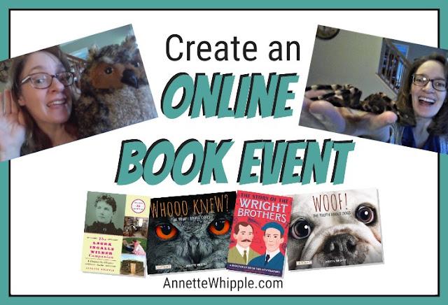 Create Virtual Book Events