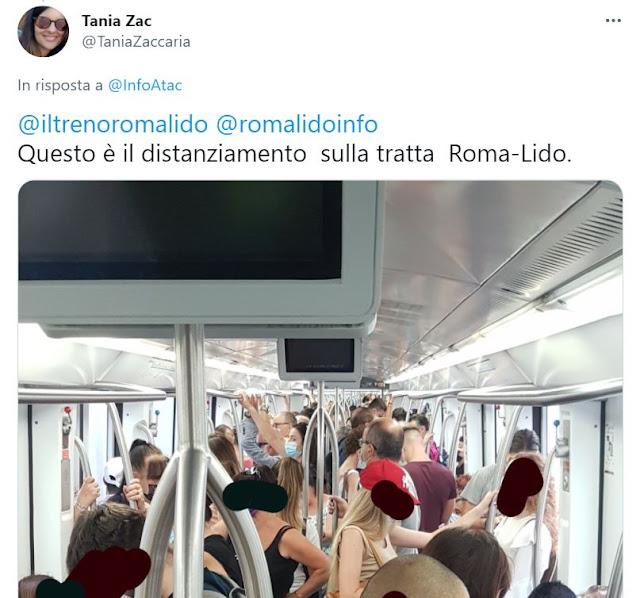 Alessandri: Roma-Lido, da Atac affermazioni prive di fondamento