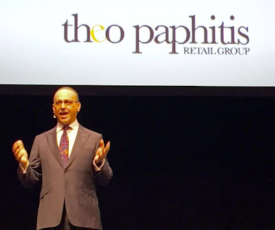 Theo Paphitis- Huge supporter of small businesses