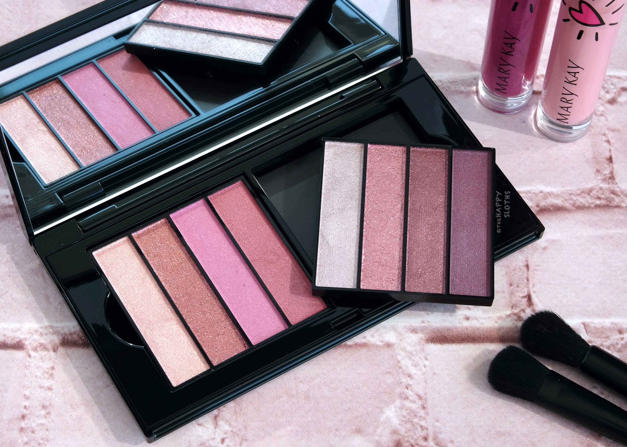 Mary Kay   Limited Edition Pink Eye Quads: Review and Swatches