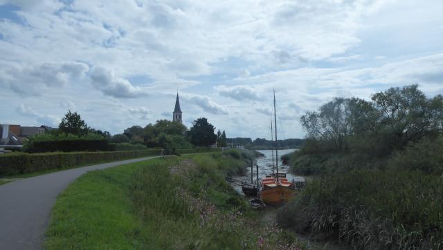 Carril bici a Sint-Amands