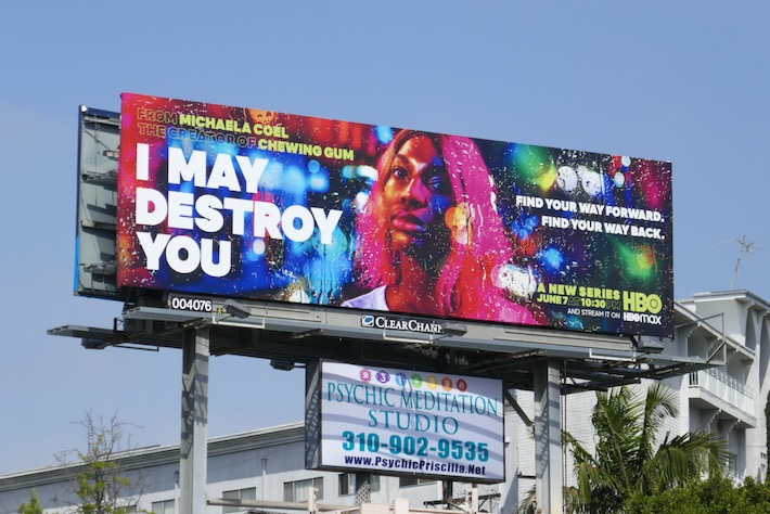 I May Destroy You series billboard