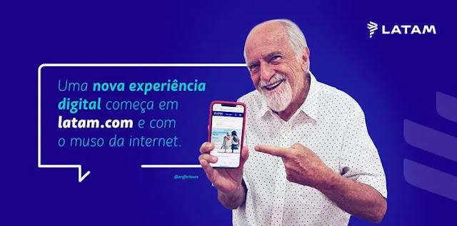 Propaganda da Latam digital