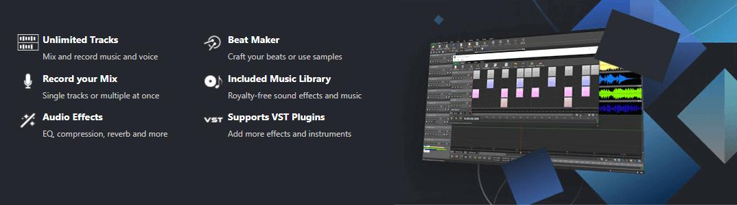 MixPad Multitrack Recording Software Registration Code