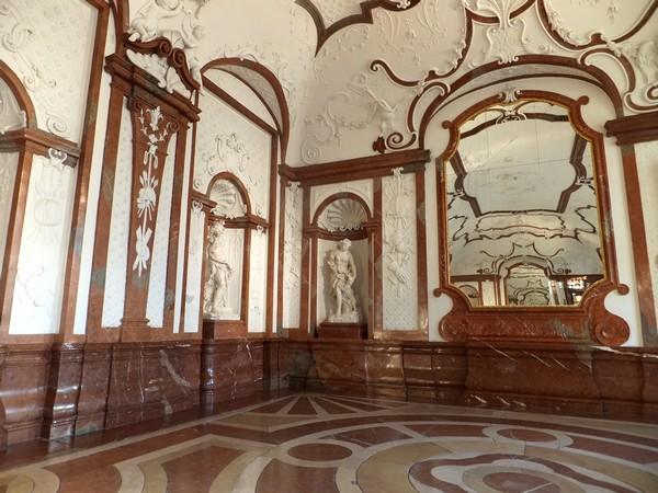 Vienne Vienna Wien Belvédère inférieur palais schloss gallerie marbre