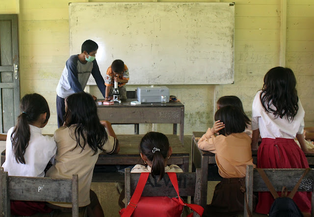 Pendidikan Pedalaman Kalteng