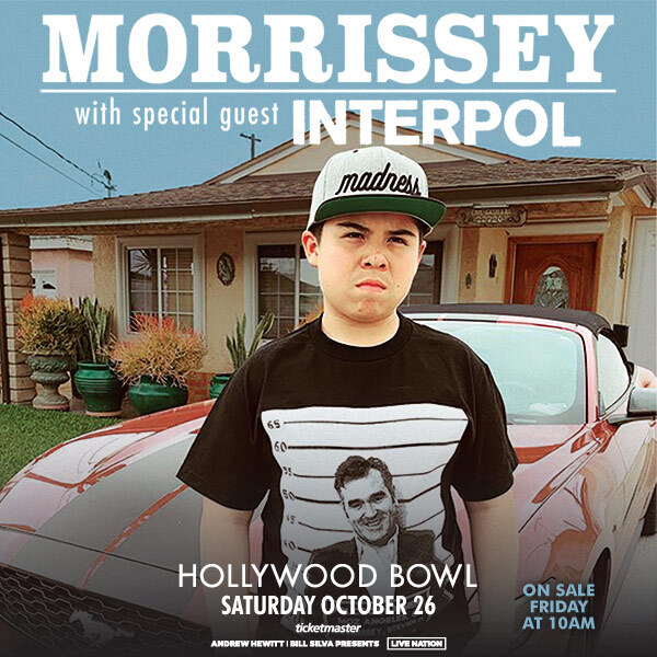 Morrissey Announces Tour Finale at the Hollywood Bowl
