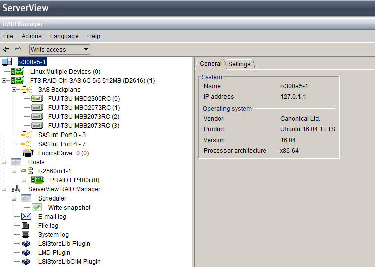 Masa's blog: Fujitsu ServerView RAID Manager 6 4 11 for Ubuntu