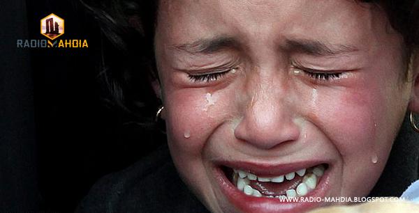 فتاة تبكي