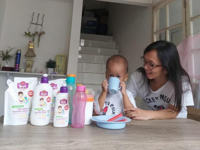 Rekomendasi Produk Pembersih Perlengkapan Makan dan Minum Anak-Anak