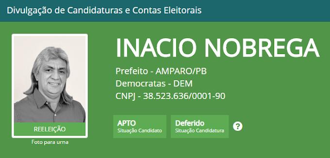 Inácio Nóbrega e Cícero Maciel tem registro de candidatura homologados