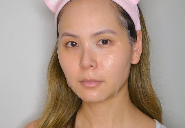 VT Tofu Probiotic Mask Selfie