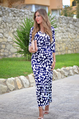 vestidos juveniles con manga larga