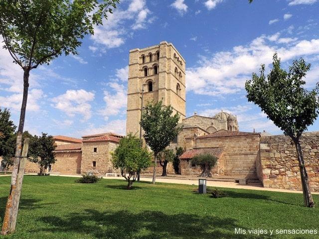 Catedral de Zamora, Parque del castillo