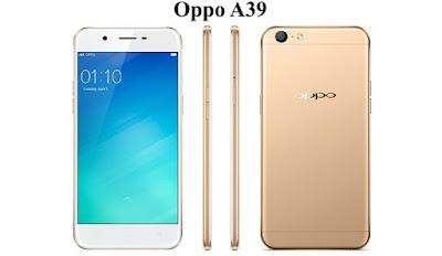 Harga Oppo A39, Review Oppo A39, Spesifikasi Oppo A39