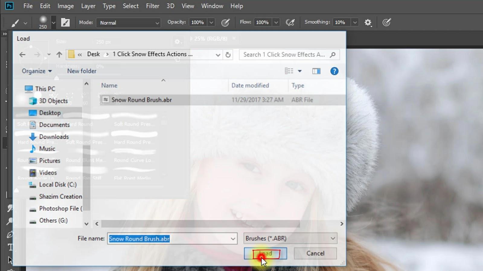1-Click Automatic Realistic SNOW EFFECT Screenshot 3