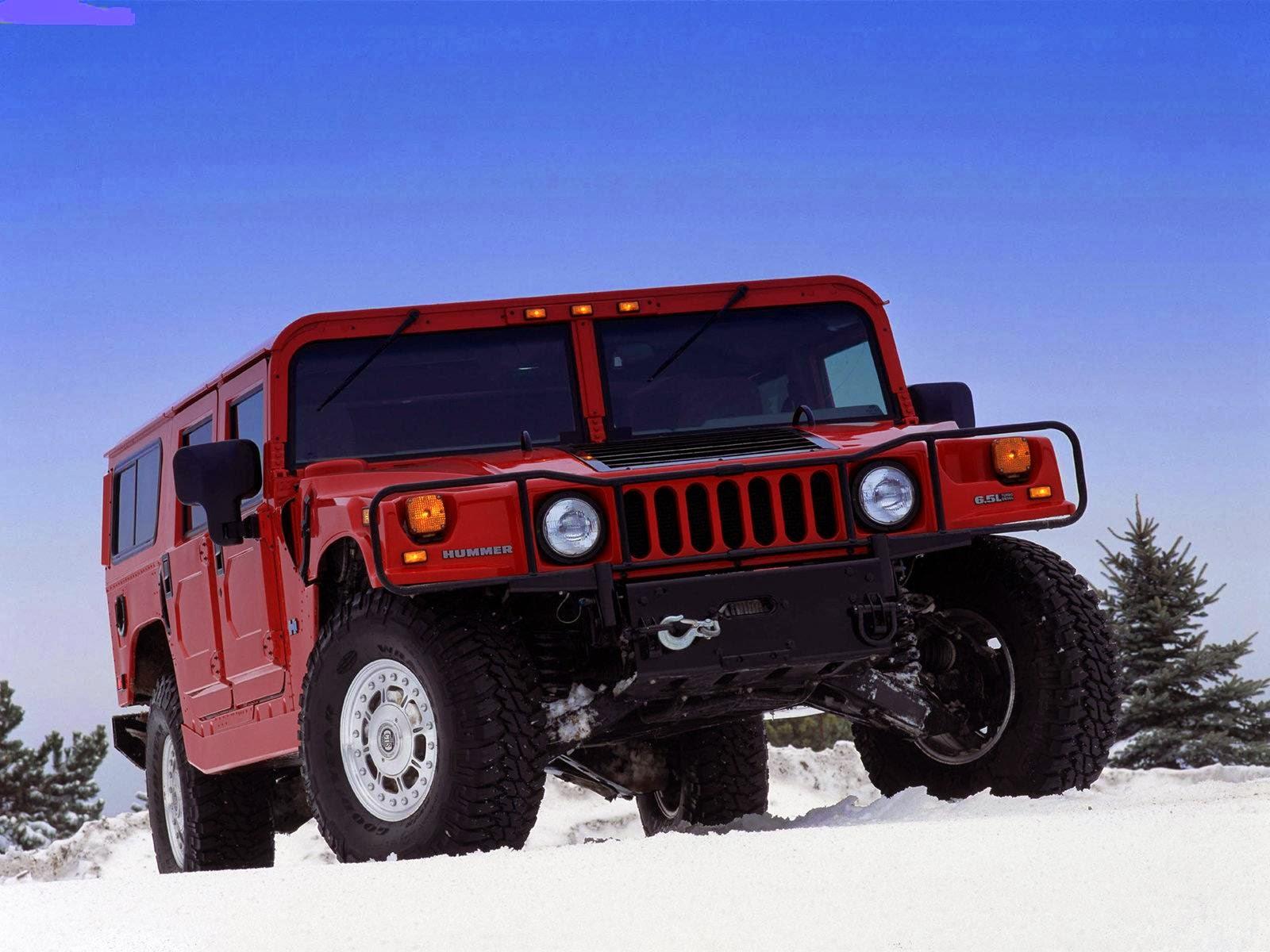 Hummer H1 model year 2003