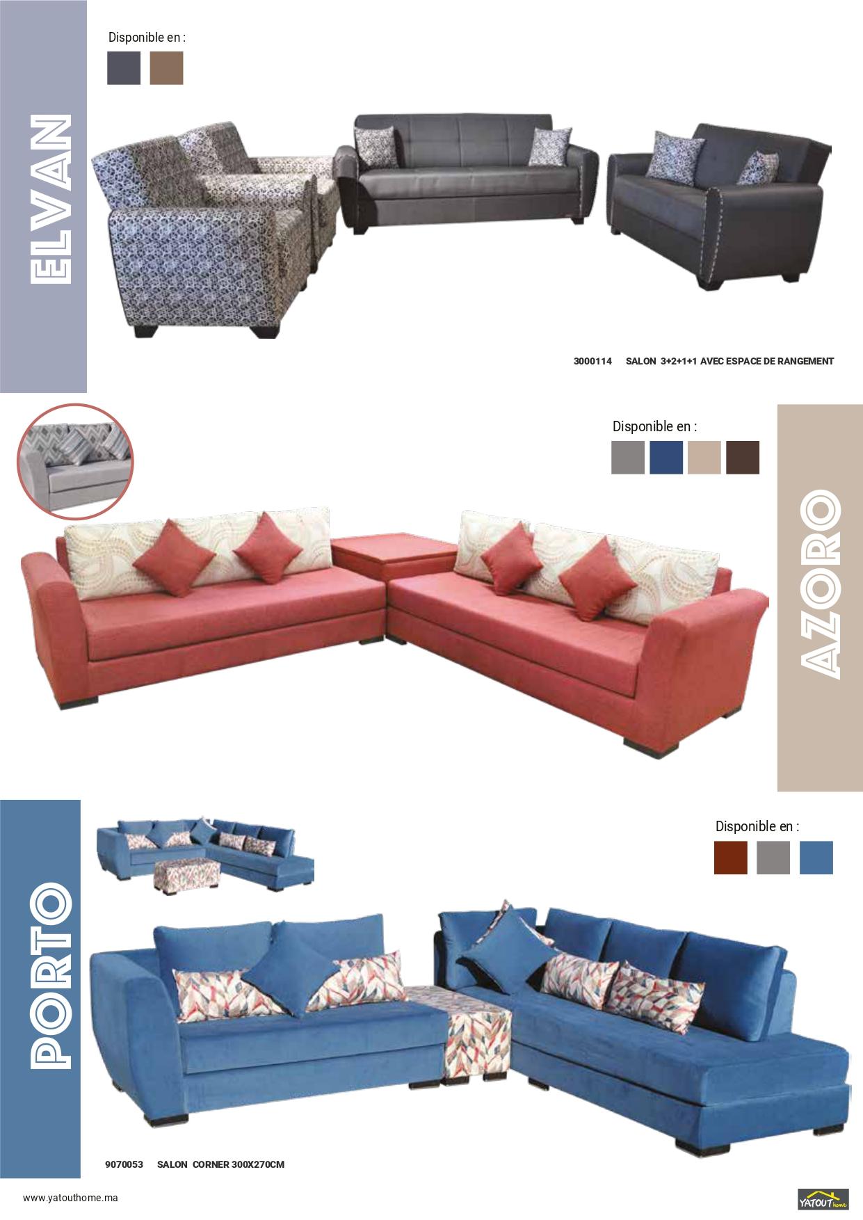 Catalogue yatout home