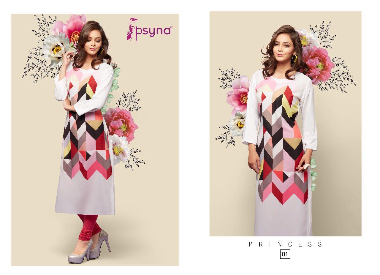 PRINCESS VOL 8-New Arrival Designer Rayon 14Kg Kurti