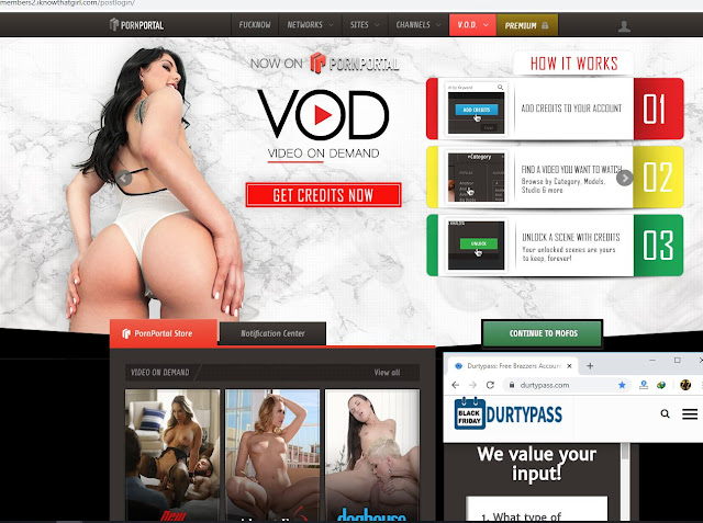 Premium Porn Pornportal Account Working