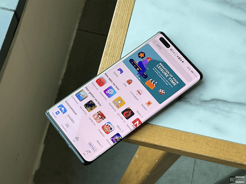 Huawei App Gallery gets a redesign