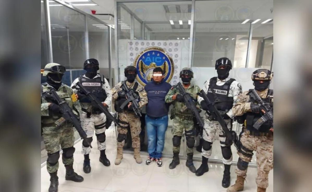 """Capturan en Guanajuato a """"El Dalugas"""" líder del Cártel Santa Rosa de Lima, operaba en zona Laja-Bajío"""