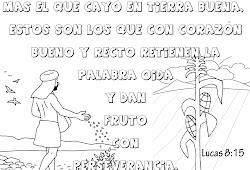 Dibujos Para Colorear Cristianos Con Versiculos Para Ninos