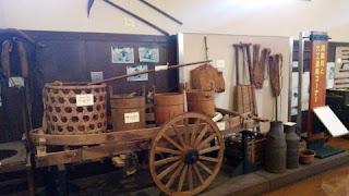農機具館内の展示物
