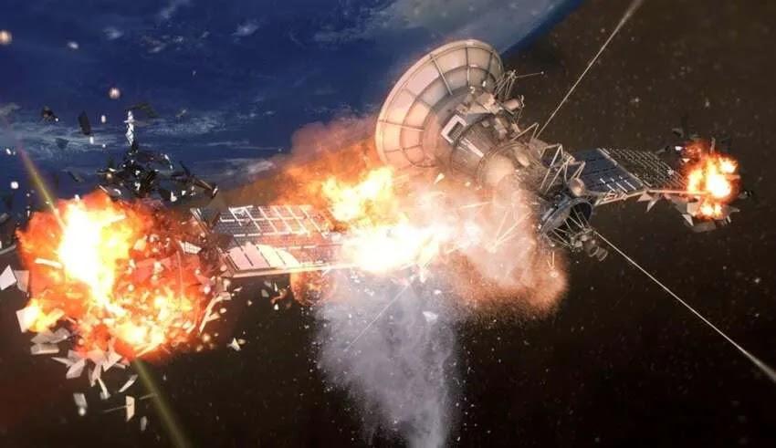 Δύο δορυφόροι εκρήγνυνται υπό μυστηριώδες συνθήκες