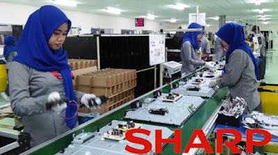 Lowongan Kerja Jobs : Stock Keeper, Receptionist for Service Center, Administration Staff Min SMA SMK D3 S1 PT Sharp Electronics Indonesia Membutuhkan Tenaga Baru besar-Besaran Seluruh Indonesia