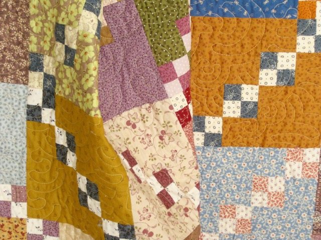 Double Four Patch Quilt