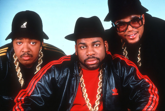 Run DMC Adidas tracksuit icons