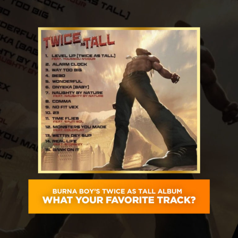 """What's Your Favorite Track Off Burna Boy's """"Twice As Tall"""" Album ? #Arewapublisize"""