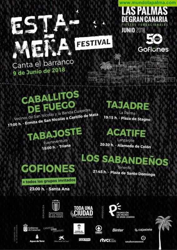 Tajadre participa en las fiestas fundacionales de Las Palmas de Gran Canaria