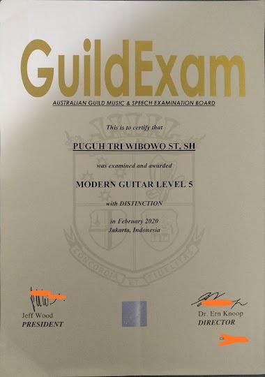 GuildExam internasional Wajib diikuti bagi musisi