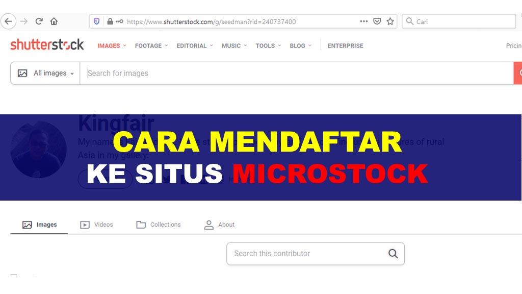 Fajriology.com - cara mendaftar ke situs microstockFajriology.com - cara mendaftar ke situs microstock