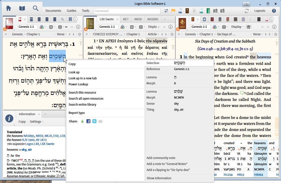 Biblical Studies and Technological Tools: Working with ...