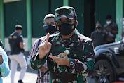 Kunjungi Solo, Panglima TNI Himbau Warga Bergejala Covid-19 Segera Dirawat Di Tempat Isoter