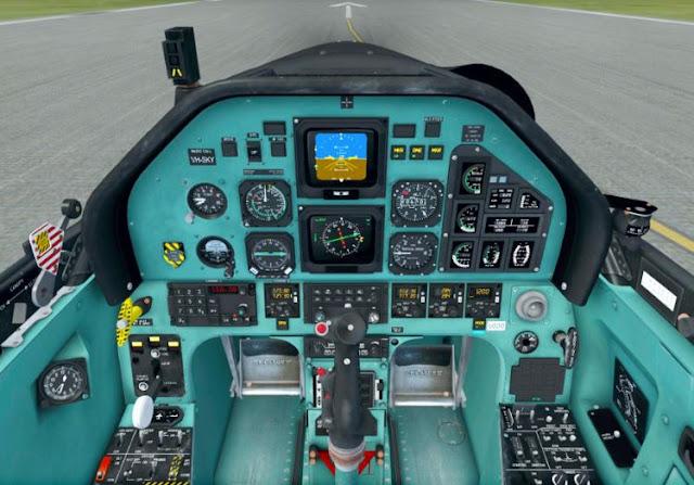 Pilatus PC-9M cockpit