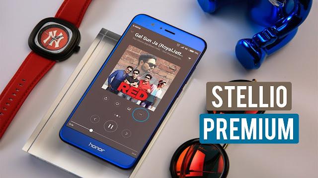 تطبيق Stellio Player من أفضل التطبيقات لتشغيل الموسيقى بجودة صوت رهيبة