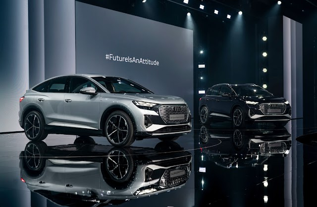 Audi Q4 E-Tron and E-Tron Sportback: The future is near