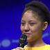 Keren Montero entre lágrimas recibe felicitación de Lilly Goodman