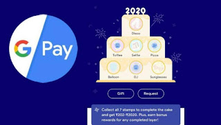 {Loot}How to complete Google Pay 2020 Cake Twise in One Account