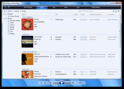 विंडोज एक्सेसरीज | विंडोज मीडिया प्लेयर (Windows Media Player)
