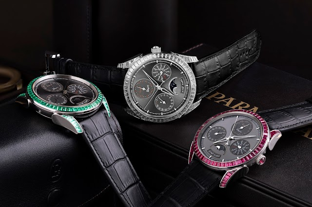Watches with gems that represent the colors of regional flags