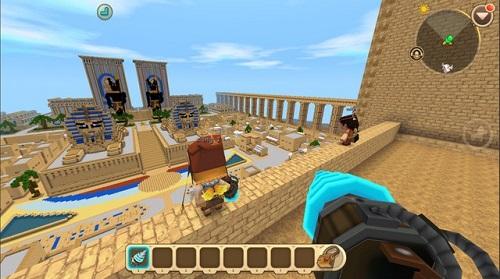 Mini World có thể chấp nhận được người chơi mặc sức sáng tạo